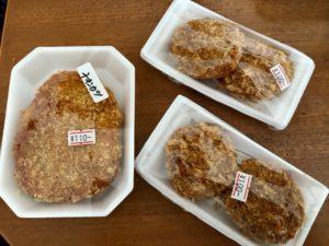 フードショップヒライの揚げ物