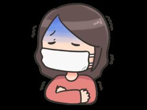 風邪ひいた
