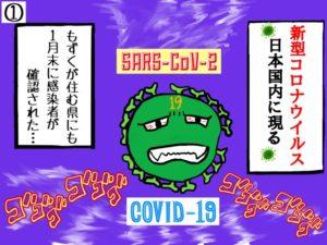 新型コロナウイルス、現る